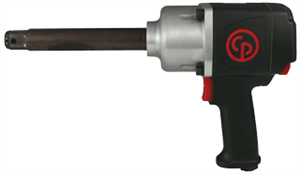 "Chicago Pneumatic 7763-6 3/4"" Super Duty Impact Wrench w/ Ext. Anvil"