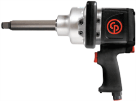 "Chicago Pneumatic 7774-6 1"" Heavy Duty Impact Wrench w/ Ext. Anvil"