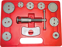 12pc Disc Brake Caliper Wind Back Tool Kit Astro Pneumatic 7860