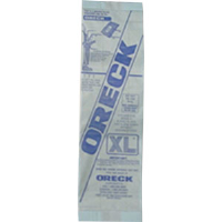 Oreck 800025DW Upright Disposable Hypo-Allergenic Bags, 250/Pkg