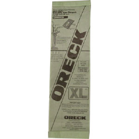 Oreck 800025 Upright Disposable Bags, 250/Pkg