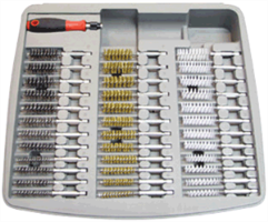 IPA Tools 8001D 36 Pc. Professional Bore Brush Set with Handle