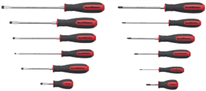 Gearwrench 80051 12 Pc. Combination Screwdriver Set