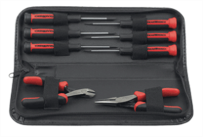 Gearwrench 80058 8 Pc. Mini Screwdriver and Pliers Set