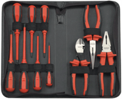 Gearwrench 80062 10 Pc. Insulated Pliers and Screwdriver Set
