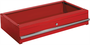 Sunex 8006RB Storage Drawer for Service Cart, Red