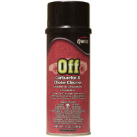 Quest Chemical 802 Off Carburetor and Choke Cleaner, 16oz,12/Cs.