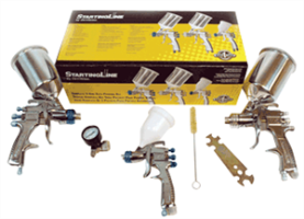 DeVilbiss 802789 StartingLine HVLP Spray Gun Kit