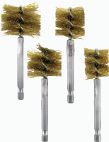 IPA Tools 8038 4 Pc. Brass XL Bore Brush Set