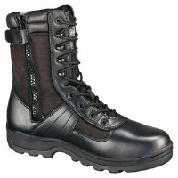 "Weinbrenner Thorogood 804-6191 8"" The Deuce® Black Boots, Size 8"