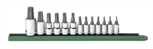 Gearwrench 80723 13 Pc. Torx® Press Fit Bit Socket Set