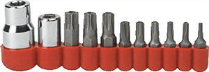 Gearwrench 80724 11 Pc. Torx® Tamper-Proof Bit Socket Set