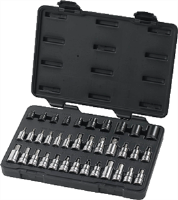 Gearwrench 80726 36 Pc. Master Torx® Set with Hex Bit Sockets