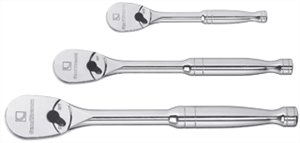 Gearwrench 81206 3 Pc. Full Polish Ratchet Set