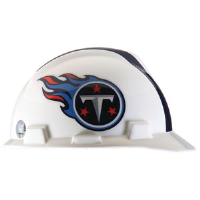 MSA 818413 V-Gard® Hard Hat w/1-Touch®, Tennessee Titans