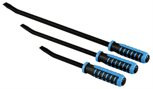 OTC 8203 Blue Force — Handled Pry Bar Set (3 Pc.)