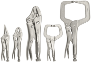 Gearwrench 82112 5 Pc. Locking Pliers Set