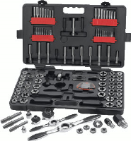Gearwrench 82812 114 Pc. Large Combination Tap & Die Set