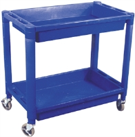 Astro Pneumatic 8330 2 Shelf Heavy Duty Plastic Utility Cart