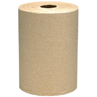 "VonDrehle 835N Preserve Hardwound Towels, 2"" Core, Brown, 12 Rolls/350' ea"