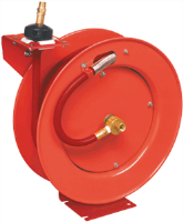 "Lincoln Industrial 83753 3/8"" x 50° Economy Air Hose Reel"