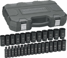 "Gearwrench 84935 29Pc. 1/2"" Dr. Deep Impact Socket Set"