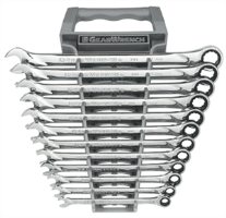 Gearwrench 85098 12 Pc. XL Combination Ratcheting Wrench Set-METRIC
