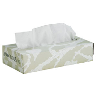 VonDrehle 8575 Precious® 2-Ply, White Facial Tissues, 30/Cs.