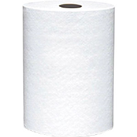 "VonDrehle 860B Preserve Hardwound Towels, 2"" Core, White, 12 Rolls/600' ea"