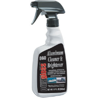 Duragloss 860 Aluminum Cleaner and Brightener, 32oz,6/Cs