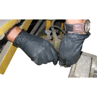 Impact Products 8642L Disposable Nitrile PF Black Gloves, L, 1000/Cs.
