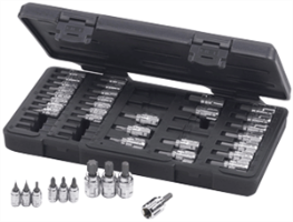 Gearwrench 890040 39 Pc. Vortex™ Bit Socket Set