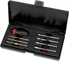 Gearwrench 8908 8 Pc. Ratcheting Nut Driver Set- SAE