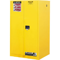 Justrite 899000 Sure-Grip® EX 90 Gal Safety Cabinet, Manual