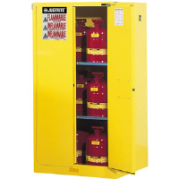Justrite 894580 Sure-Grip® EX 45 Gal Safety Cabinet, Self Closing