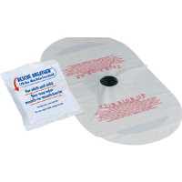 First Aid Only A5113 CPR Faceshield w/1-Way Valve (Latex Free)