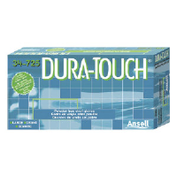Ansell 34725S Dura-Touch® Economy Powder-Free Vinyl Gloves, Small