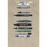 Avery 08-888 Marks-A-Lot® Black Permanent Markers, 12/Cs.