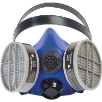 Sperian B210010 Survivair Blue 1™ Half-Mask Respirator, Small