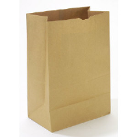 Duro Paper Bags SK1652 Brown Paper Grocery Bags, 52#, 500/Bundle