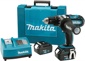 "Makita BDF451 18V LXT Lithium-Ion 1/2"" Driver-Drill Kit"