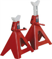 Blackhawk Automotive BH5060 6 Ton Heavy Duty Ratchet Style Jack Stands