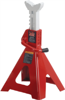 Blackhawk Automotive BH5120 12 Ton Heavy Duty Ratchet Style Jack Stands