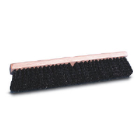 Pro Line Brush 20624 Medium Black Polypropylene Floor Brush, 24""