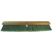 Pro Line Brush 20724 Double Green PET Push Broom, 24""