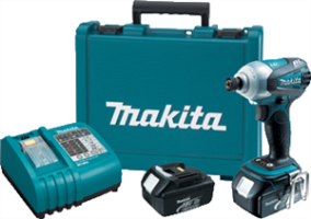 Makita BTD144 18V LXT Lithium-Ion Cordless 3-Speed Brushless Motor Impact Driver Kit