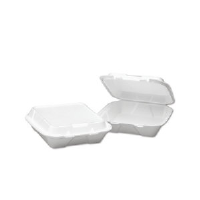 Boardwalk 101 Snap-it® Large Foam Carryout Containers, 3 Compartment
