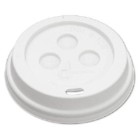 Boardwalk 10-20DOMELID Paper Hot Cup Dome Lids, 1000/Case