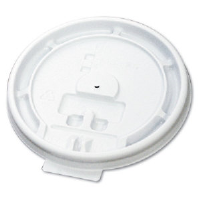 Boardwalk 10-20TABLID Paper Hot Cup Tear Tab Lids, 1000/Cs.