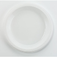 Boardwalk 6IMPACT Heavy Duty 6 Inch Plastic Plates, 1000/Cs.